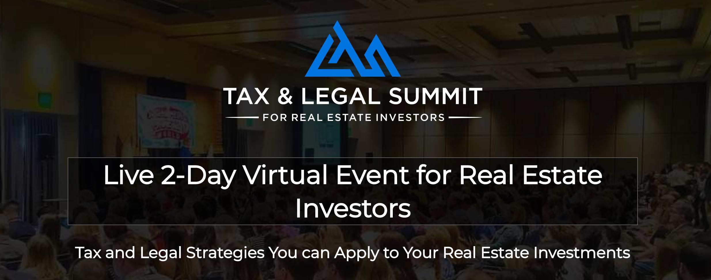 Tax and Legal Summit Registration