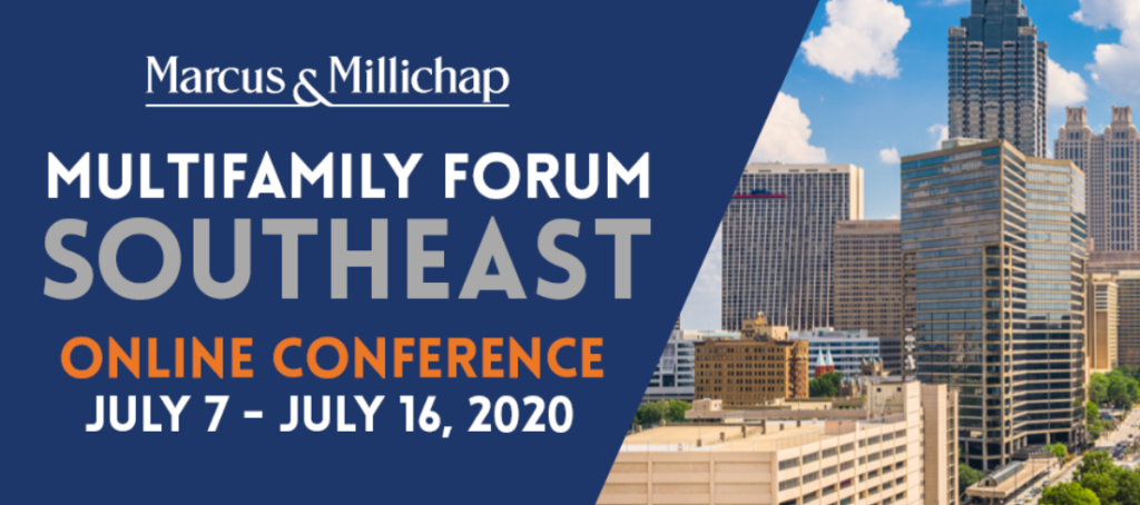Marcus & Millicahp Multifamily Forum Southeast banner